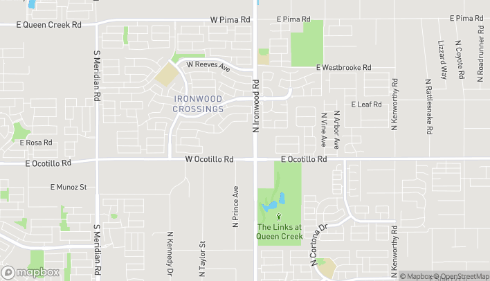 Map of 40930 N Ironwood Dr in San Tan Valley