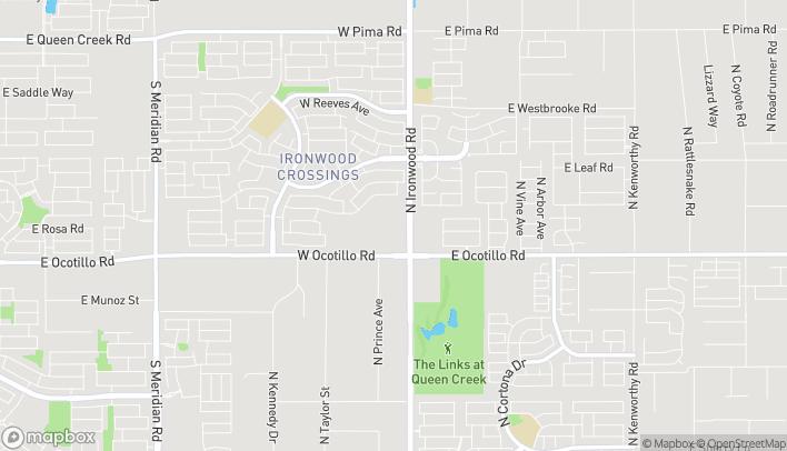 Mapa de 40930 N Ironwood Dr en San Tan Valley