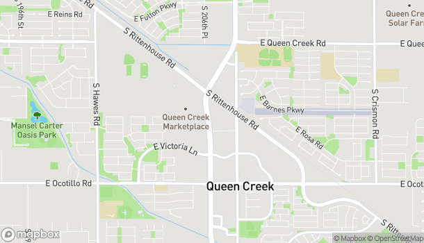 Map of 21293 S Ellsworth Loop Rd in Queen Creek