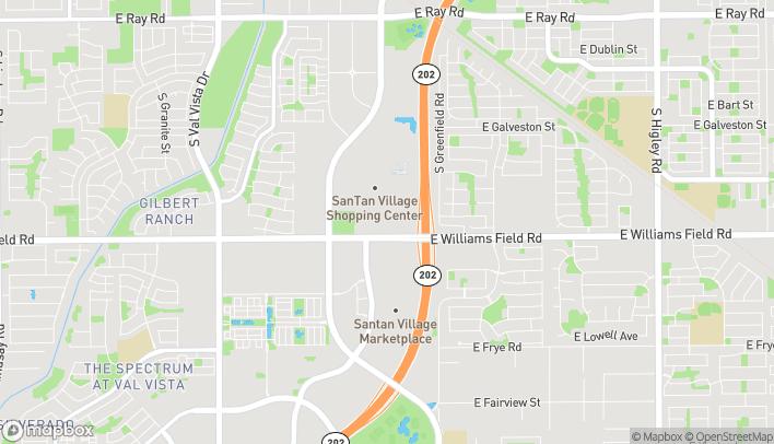 Mapa de 2224 E Williams Field Rd en Gilbert