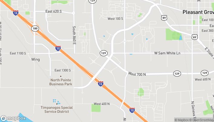 Mapa de 1865 W. Pleasant Grove Boulevard en Pleasant Grove