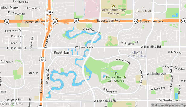 Map of 1955 W Baseline Rd in Mesa