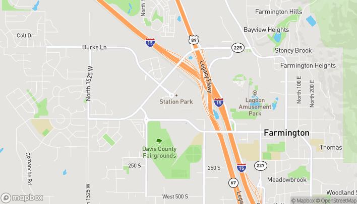 Map of 220 N Central Ave in Farmington