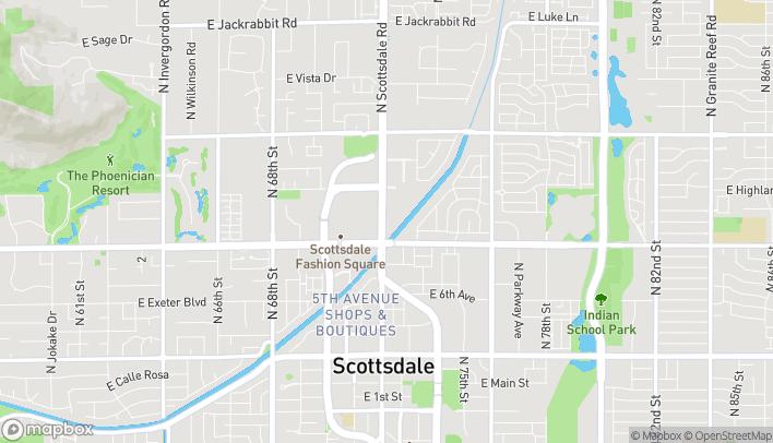Map of 4545 N Scottsdale Rd in Scottsdale