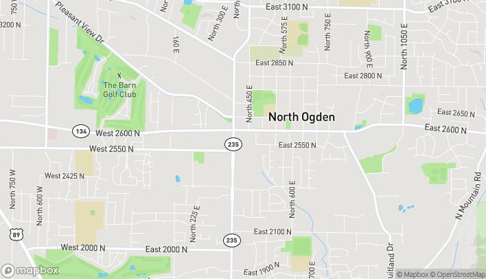 Map of 2572 North Washington Blvd in North Ogden