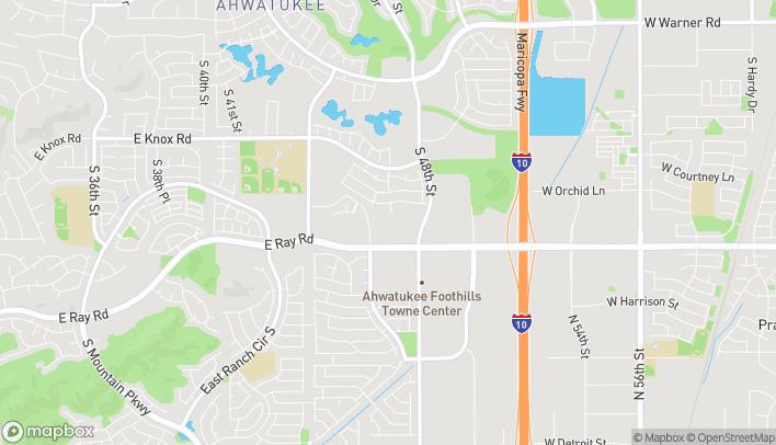 Mapa de 4722 E Ray Road en Phoenix