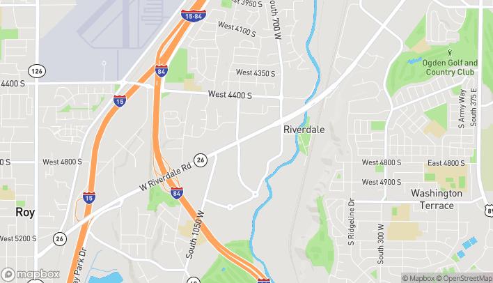 Mapa de 869 W Riverdale Road en Riverdale