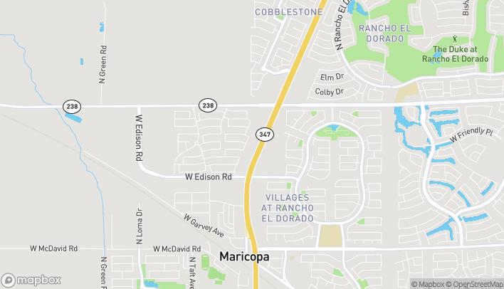 Mapa de 20800 N John Wayne Pkwy en Maricopa