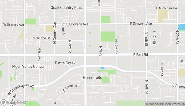 Map of 748 E Bell Rd in Phoenix