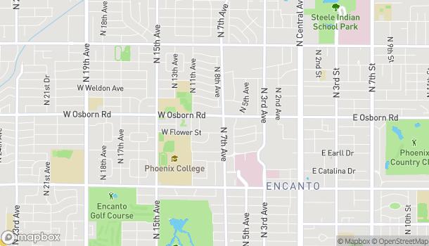 Mapa de 3350 N 7th Ave en Phoenix
