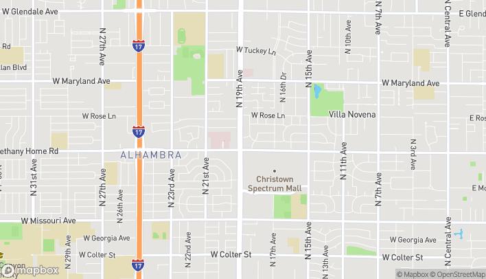 Mapa de 6075 N 19th Ave en Phoenix