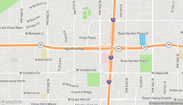 Mapa de 2805 W Agua Fria Fwy en Phoenix