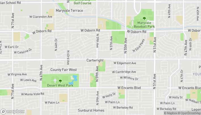Mapa de 5840 W Thomas Road, #100 en Phoenix