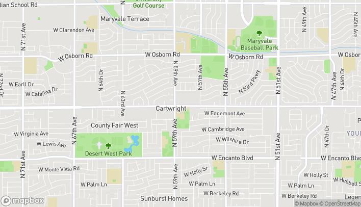 Mapa de 5840 W Thomas Rd en Phoenix