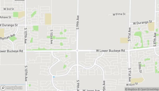 Mapa de 2735 S 99th Ave en Tolleson