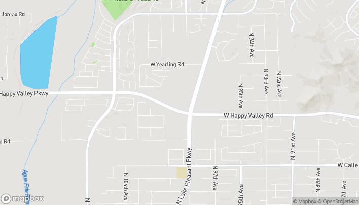 Mapa de 9980 West Happy Valley Road en Peoria