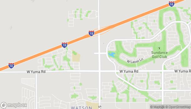 Map of 818 South Watson Rd in Buckeye
