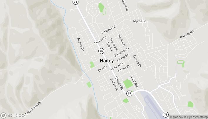 Mapa de 111 N Main St en Hailey