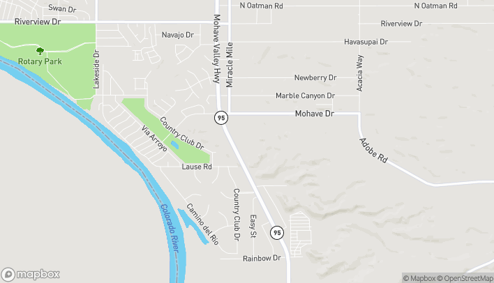 Map of 2840 Highway 95 in Bullhead City