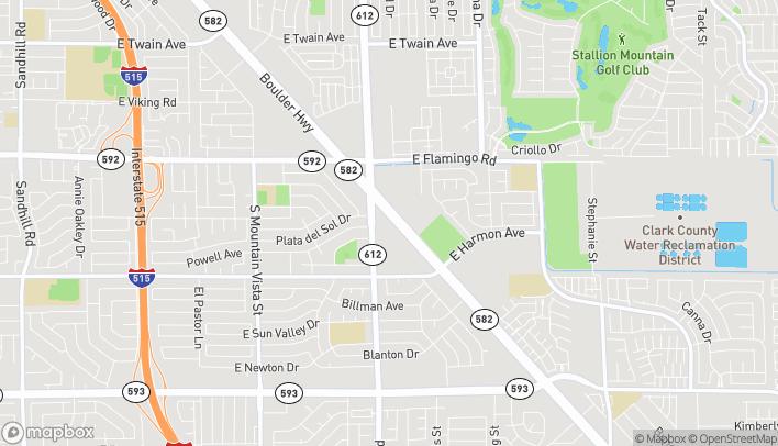 Map of 5060 Boulder Hwy in Las Vegas
