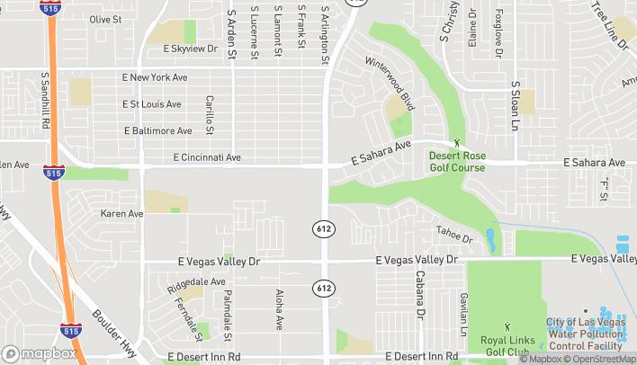 Map of 2585 S Nellis Blvd in Las Vegas