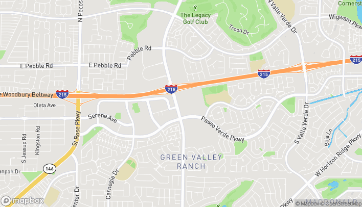 Map of 140 S Green Valley Pkwy in Henderson