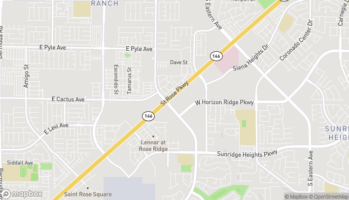 Map of 3459 St Rose Pkwy in Henderson