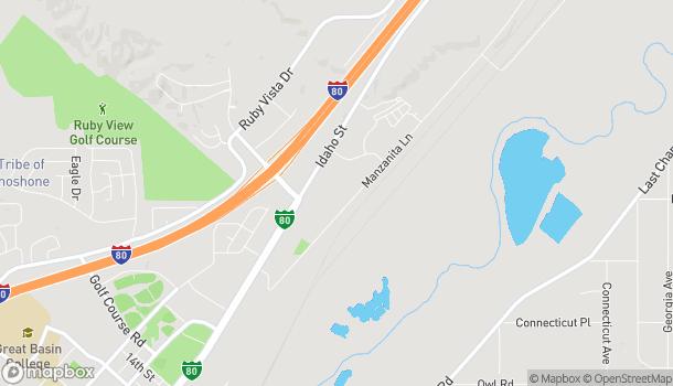 Mapa de 2572 Idaho Street en Elko