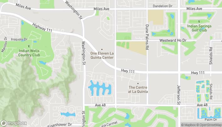 Mapa de 78982 Hwy 111 en La Quinta