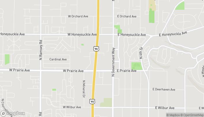 Mapa de 269 W Prairie Shopping Center en Hayden