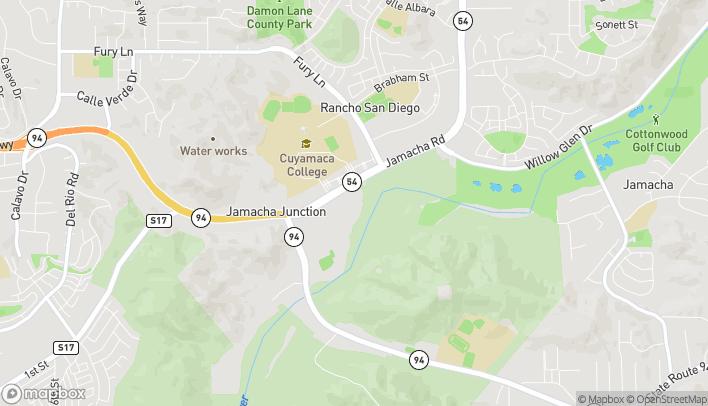 Mapa de 2883 Jamacha Road en El Cajon