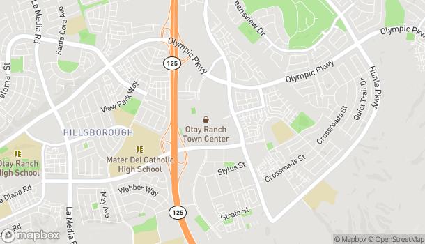 Map of 2015 Birch Rd in Chula Vista