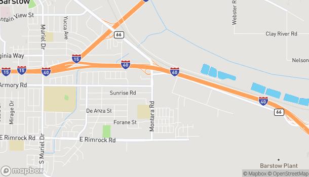 Mapa de 411 Montara Rd en Barstow