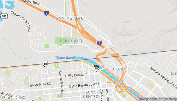 Map of 4509 Camino De La Plaza in San Diego