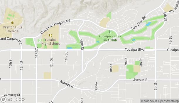 Map of 33423 Yucaipa Blvd in Yucaipa
