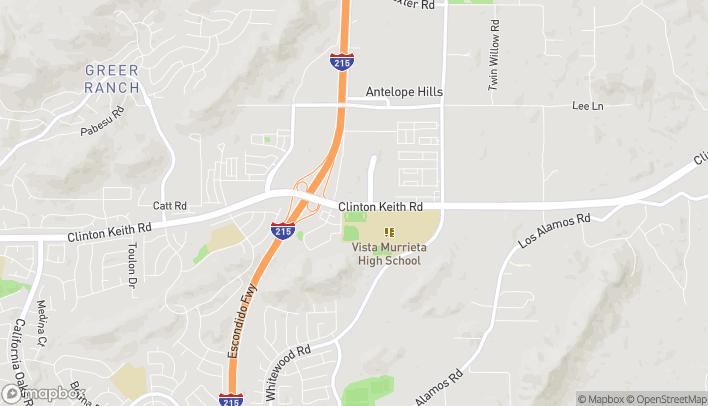 Mapa de 28080 Clinton Keith Road en Murrieta
