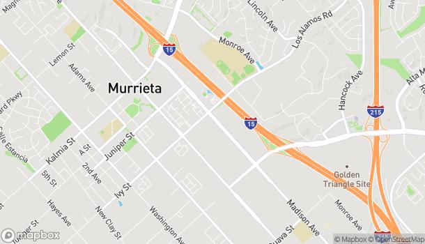 Mapa de 25145 Madison Ave en Murrieta