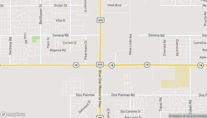Mapa de 14181 US Hwy 395 en Victorville