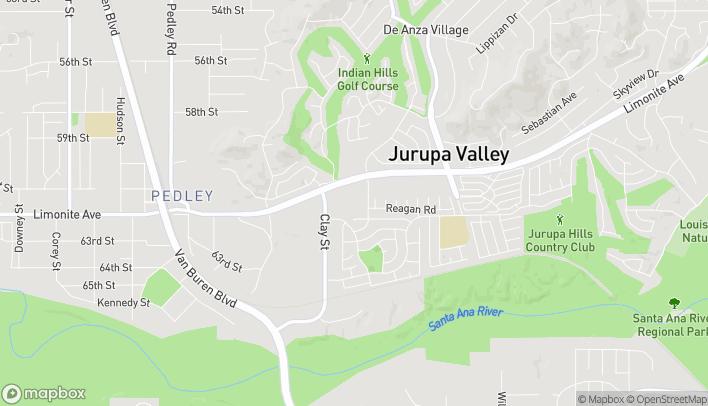 Mapa de 8052 Limonite Ave en Riverside
