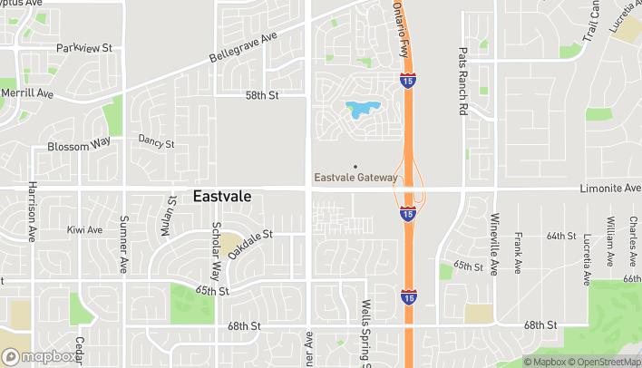 Mapa de 12569 Limonite Ave en Mira Loma