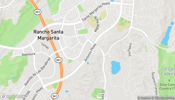Map of 22461 Antonio Pkwy in Rancho Santa Margarita