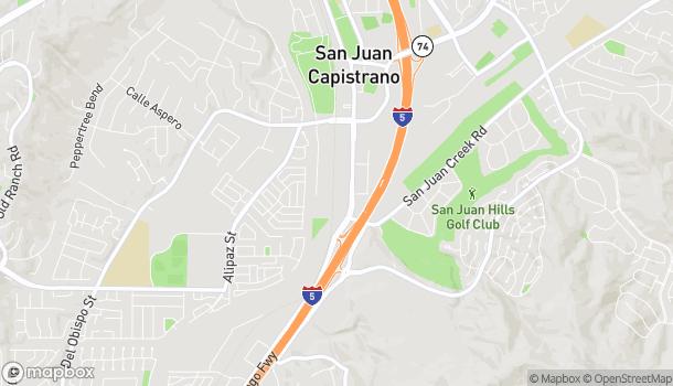 Map of 32341 E Camino Capistrano in San Juan Capistrano