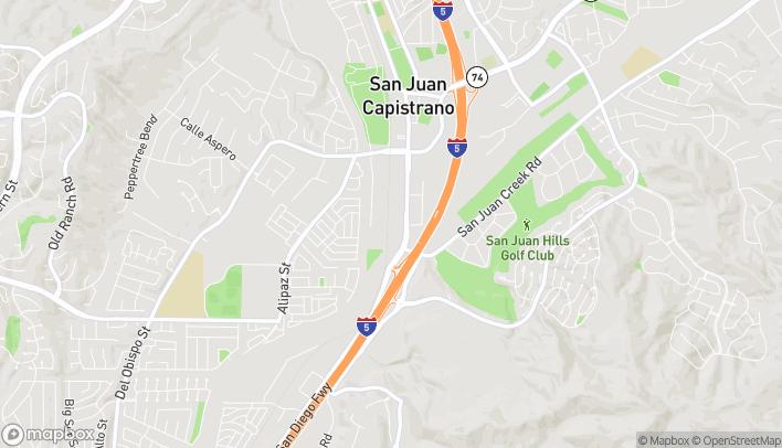 Mapa de 32341 E Camino Capistrano en San Juan Capistrano