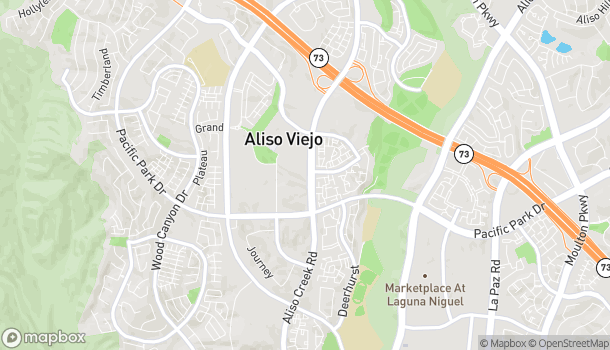 Map of 26811 Aliso Creek Rd in Aliso Viejo