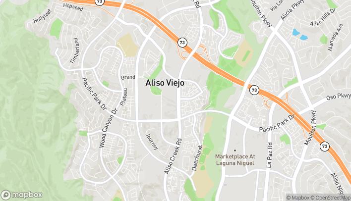Mapa de 26811 Aliso Creek Rd en Aliso Viejo