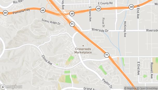 Mapa de 13089 Peyton Dr en Chino Hills