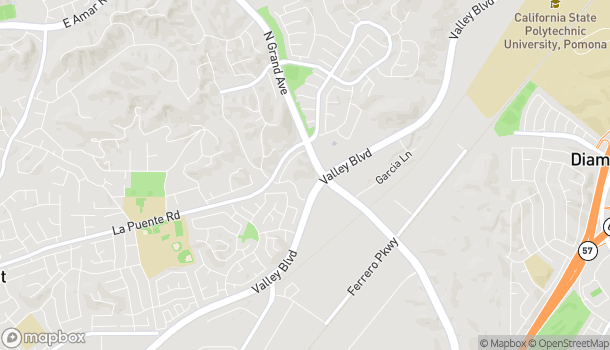 Map of 515 N Grand Ave in Walnut