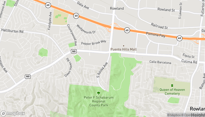 Map of 17134 Colima Rd in Hacienda Heights
