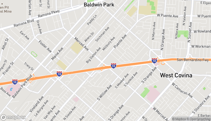 Mapa de 14510 Baldwin Park Towne Ctr en Baldwin Park