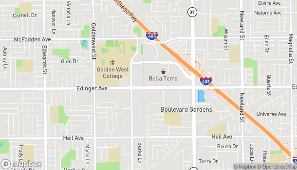 Mapa de 7501 Edinger Avenue en Huntington Beach